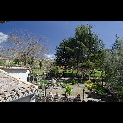 Panorama Camera da letto casa Madonie
